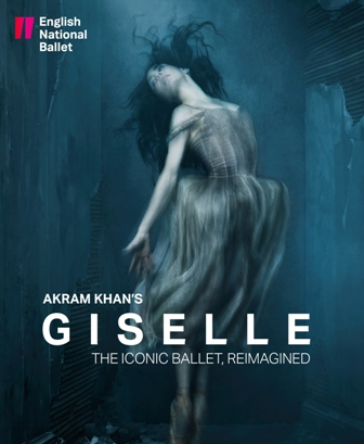 English National Ballet Akram Khan's Giselle Poster