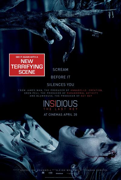 Insidious: The Last Key (Extra Footage)