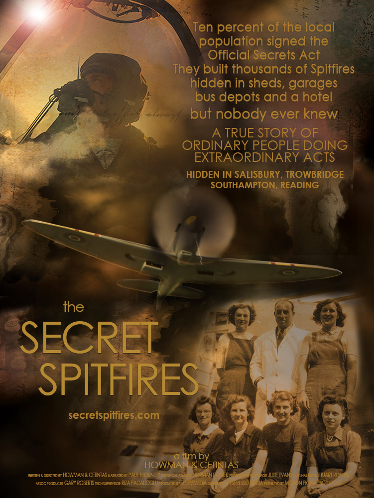The Secret Spitfires: Director's Cut Poster