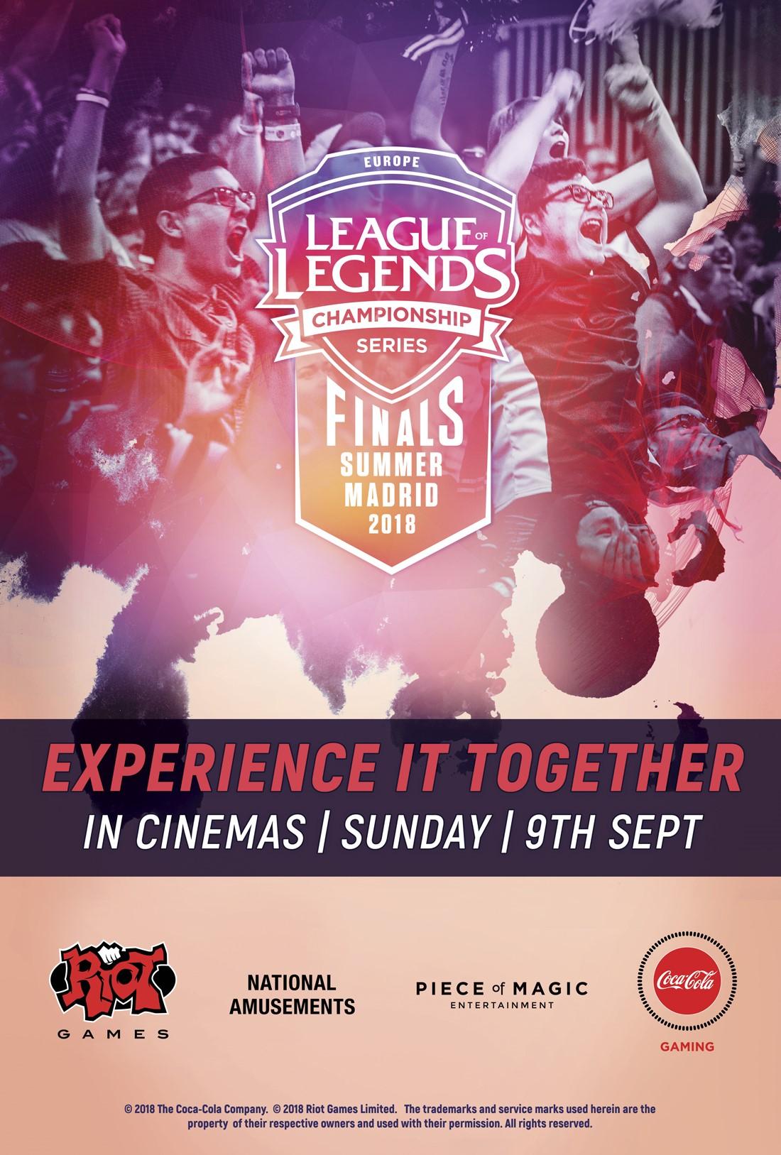 League of Legends EU Summer Finals 2018