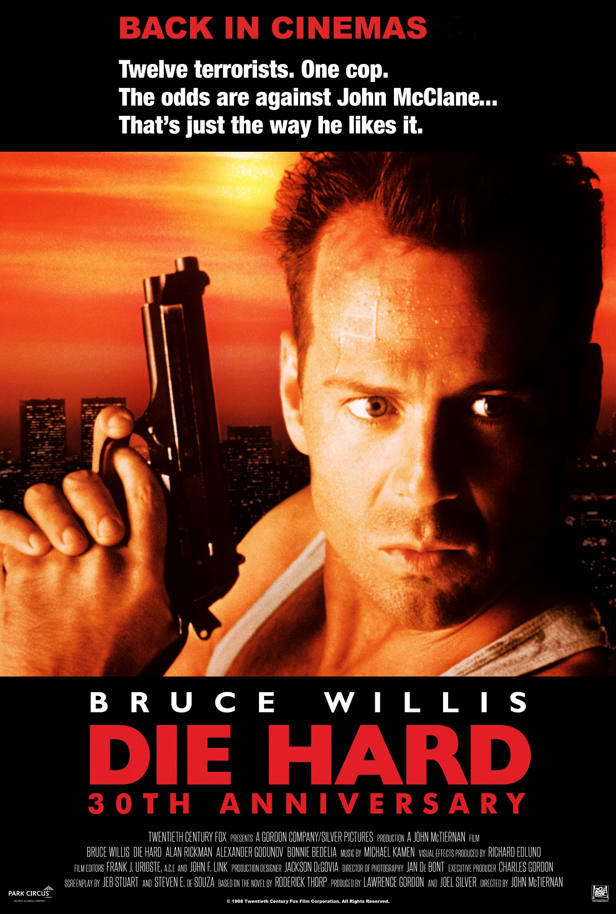 Flashback: Die Hard 30th Anniversary Poster