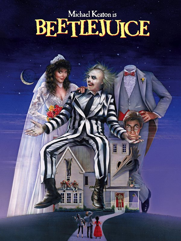 Flashback: Beetlejuice 30th Anniversary Poster