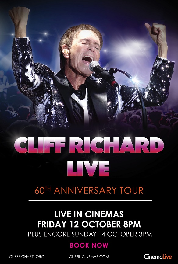 Cliff Richard Live: 60th Anniversary Tour Encore Poster