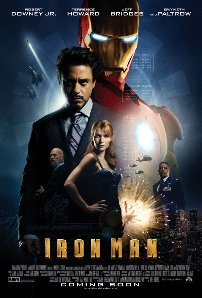 Marvel Festival: Iron Man Poster