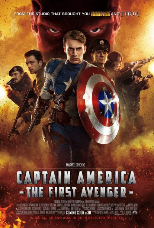 Marvel Festival: Captain America The First Avenger Poster