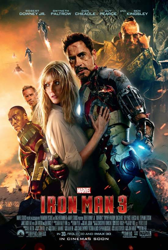 Marvel Festival: Iron Man 3 Poster