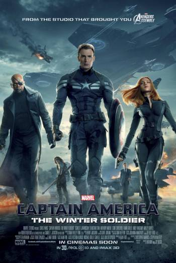 Marvel Festival Captain America The Winter Soldier Poster