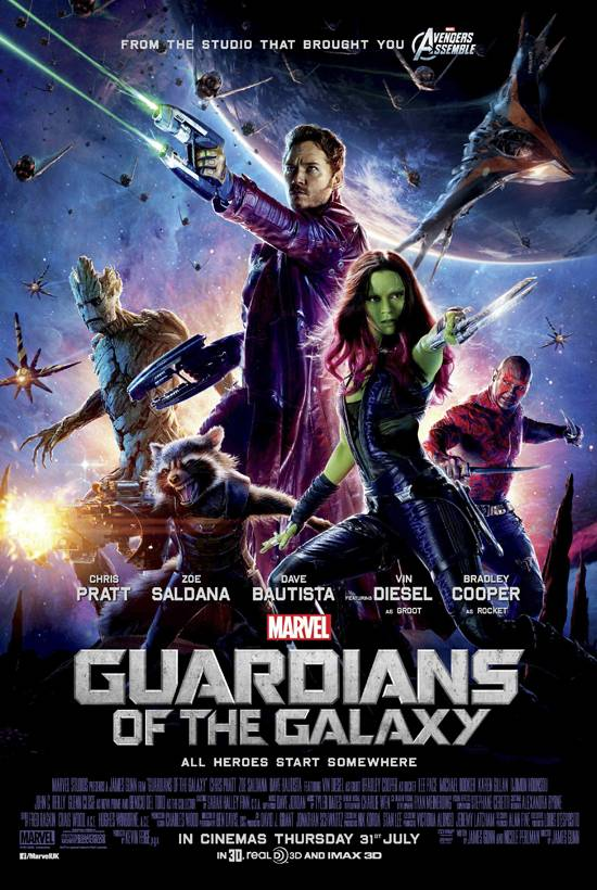 Marvel Festival: Guardians Of The Galaxy Poster