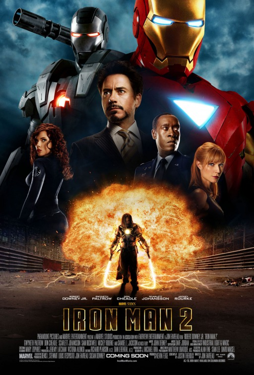 Marvel Festival: Iron Man 2 Poster