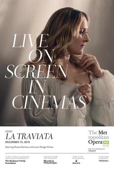 Met Opera: La Traviata Poster
