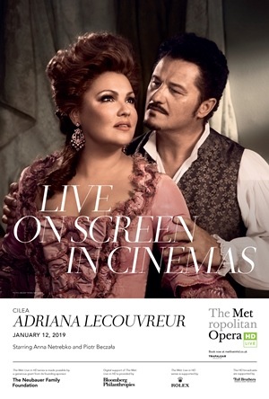 Met Opera: Adriana Lecouvreur Poster