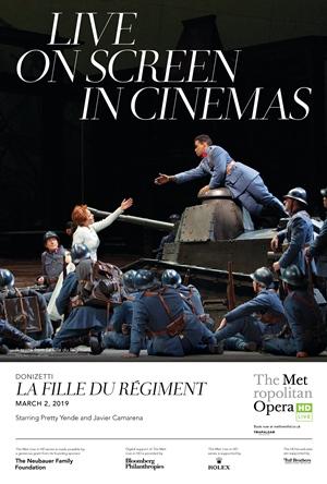 Met Opera: La Fille du Régiment Poster