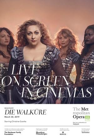 Met Opera: Die Walküre Poster