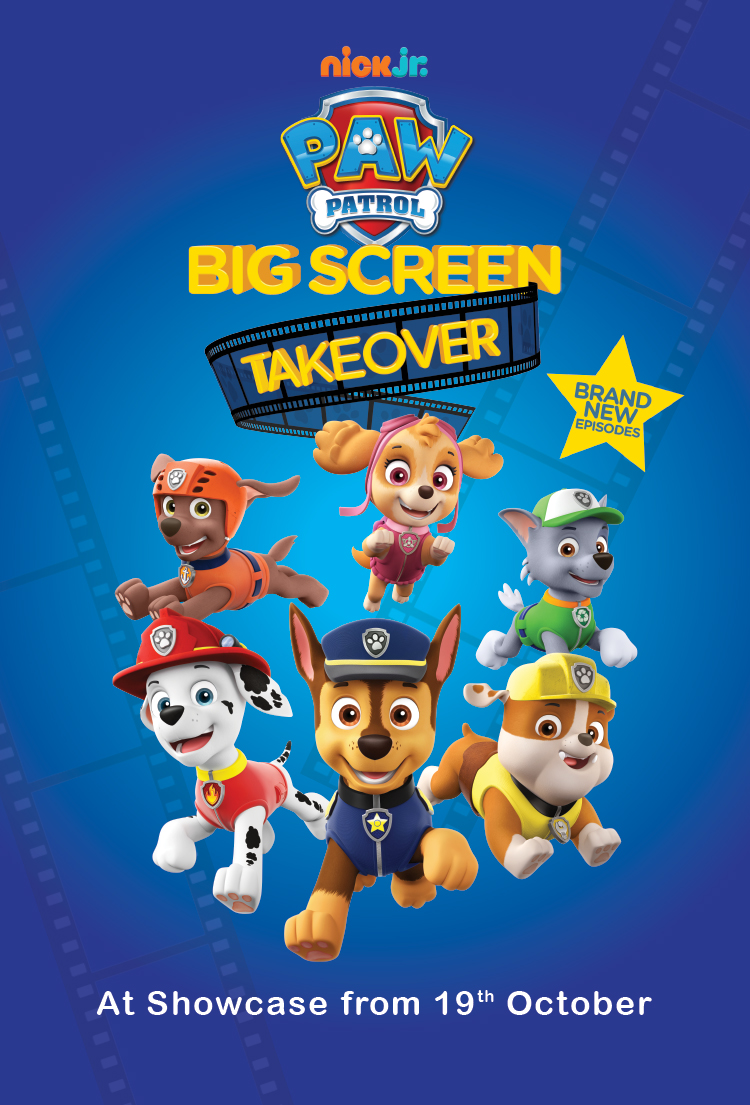 Paw Patrol: Big Screen Takeover Poster