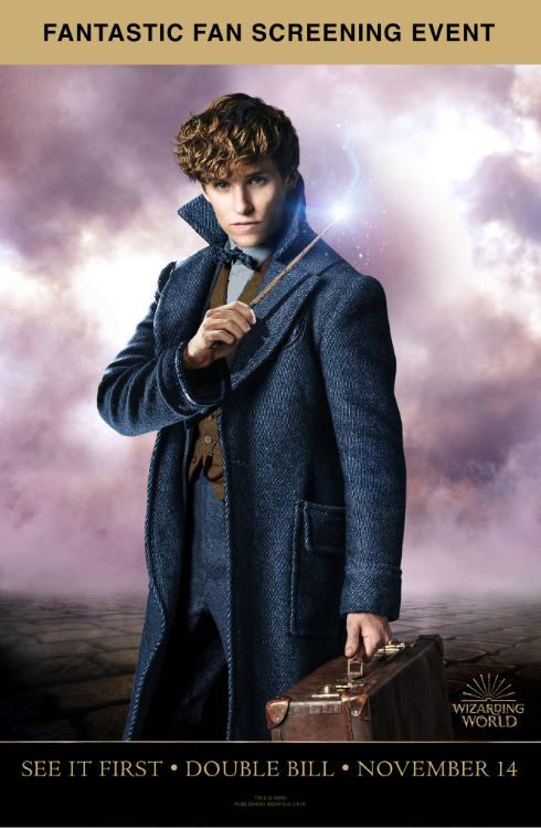 Fantastic Beasts: Exclusive Double Bill Poster