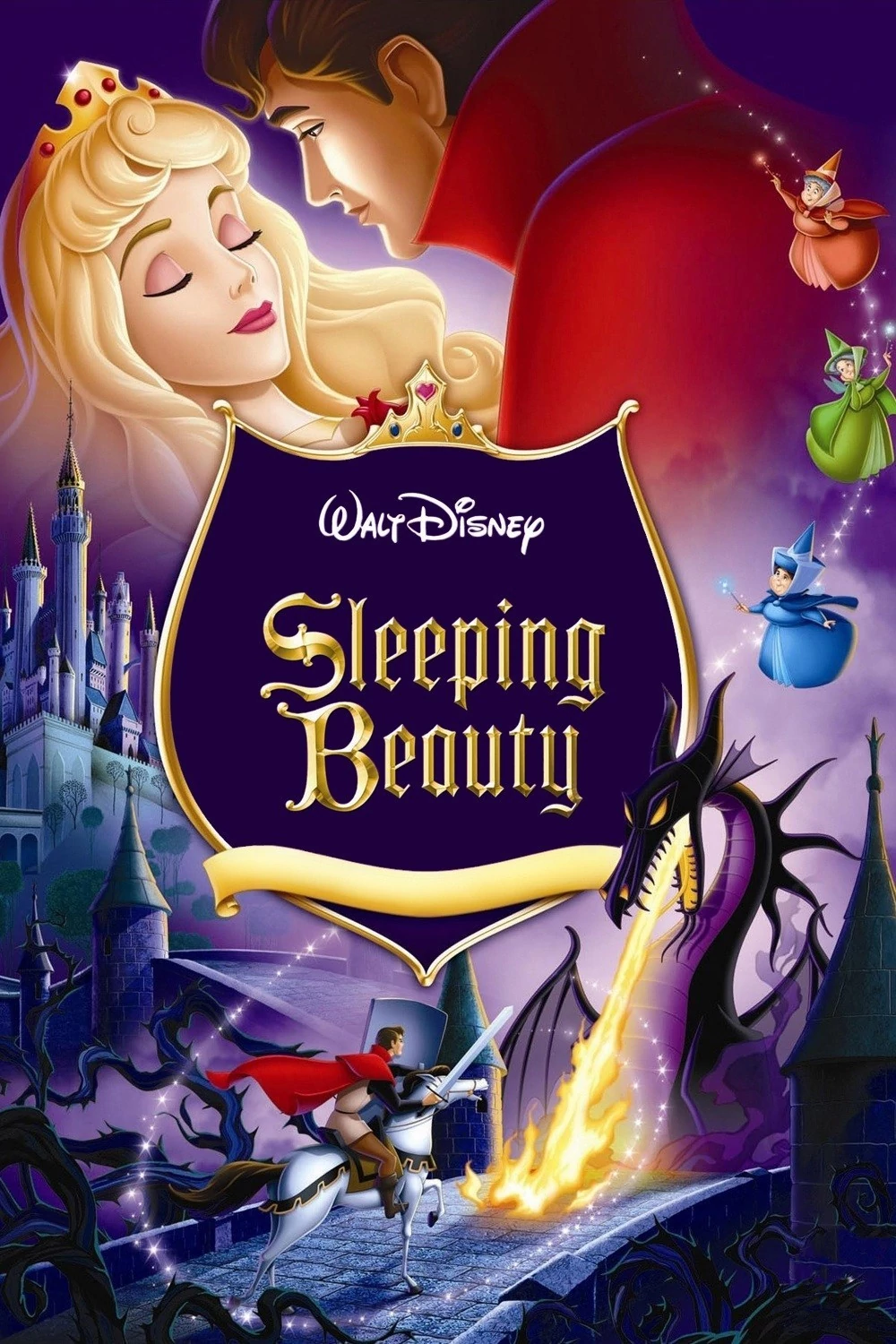 Flashback: Sleeping Beauty (1959) Poster