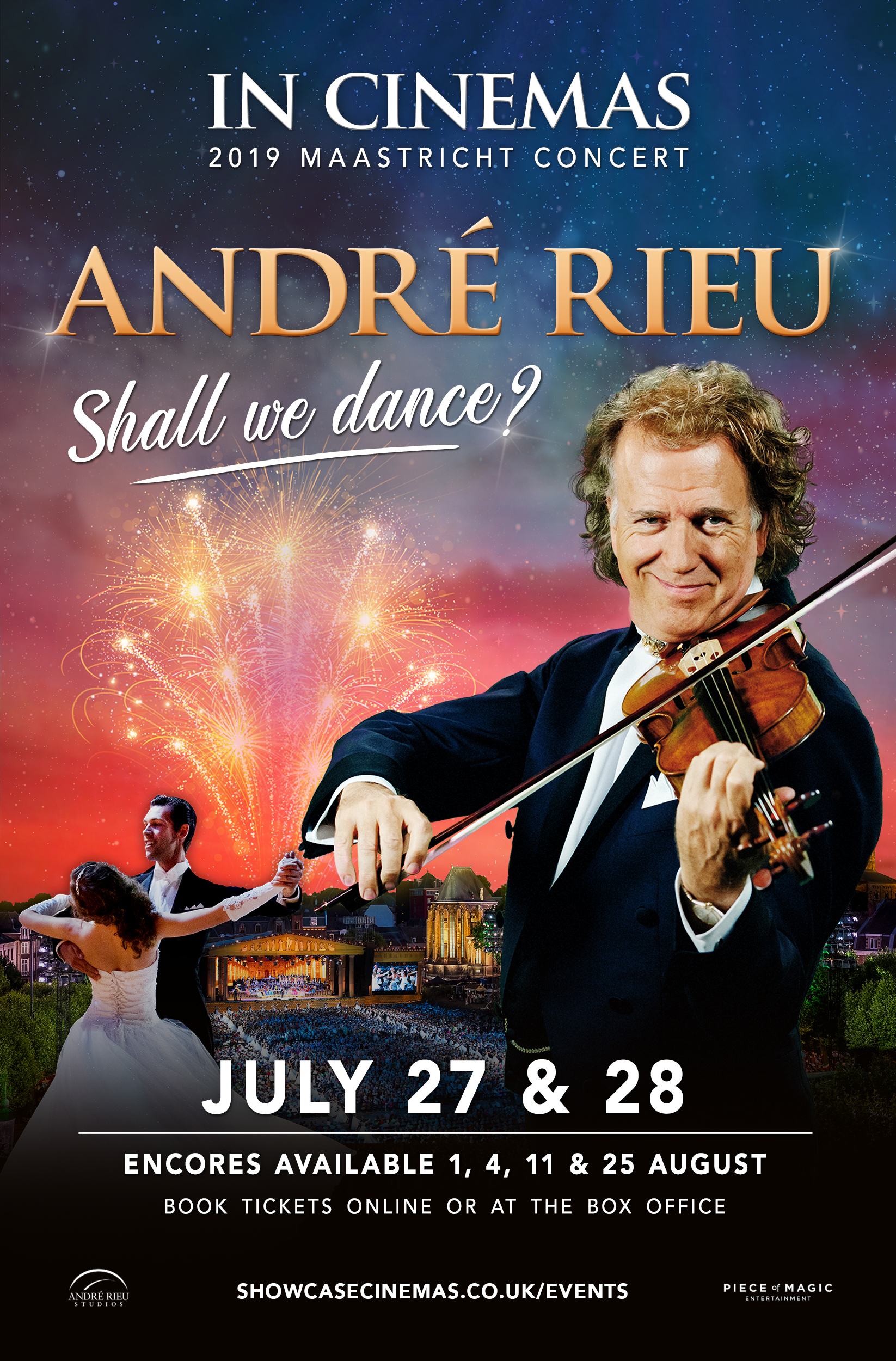 André Rieu Maastricht 2019: Shall We Dance? Poster