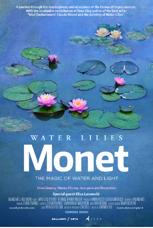 Water Lilies by Monet: Magic of Water and Light Poster