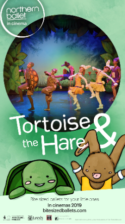 Northern Ballet: Tortoise & The Hare Poster