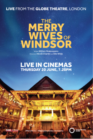 The Merry Wives Of Windsor: Live From The Globe Poster