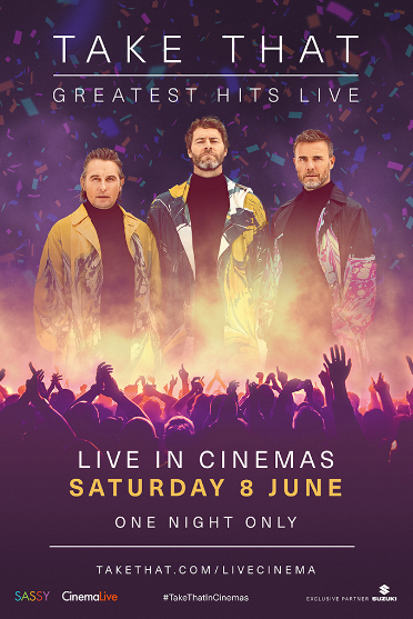 Take That: Greatest Hits Live Poster