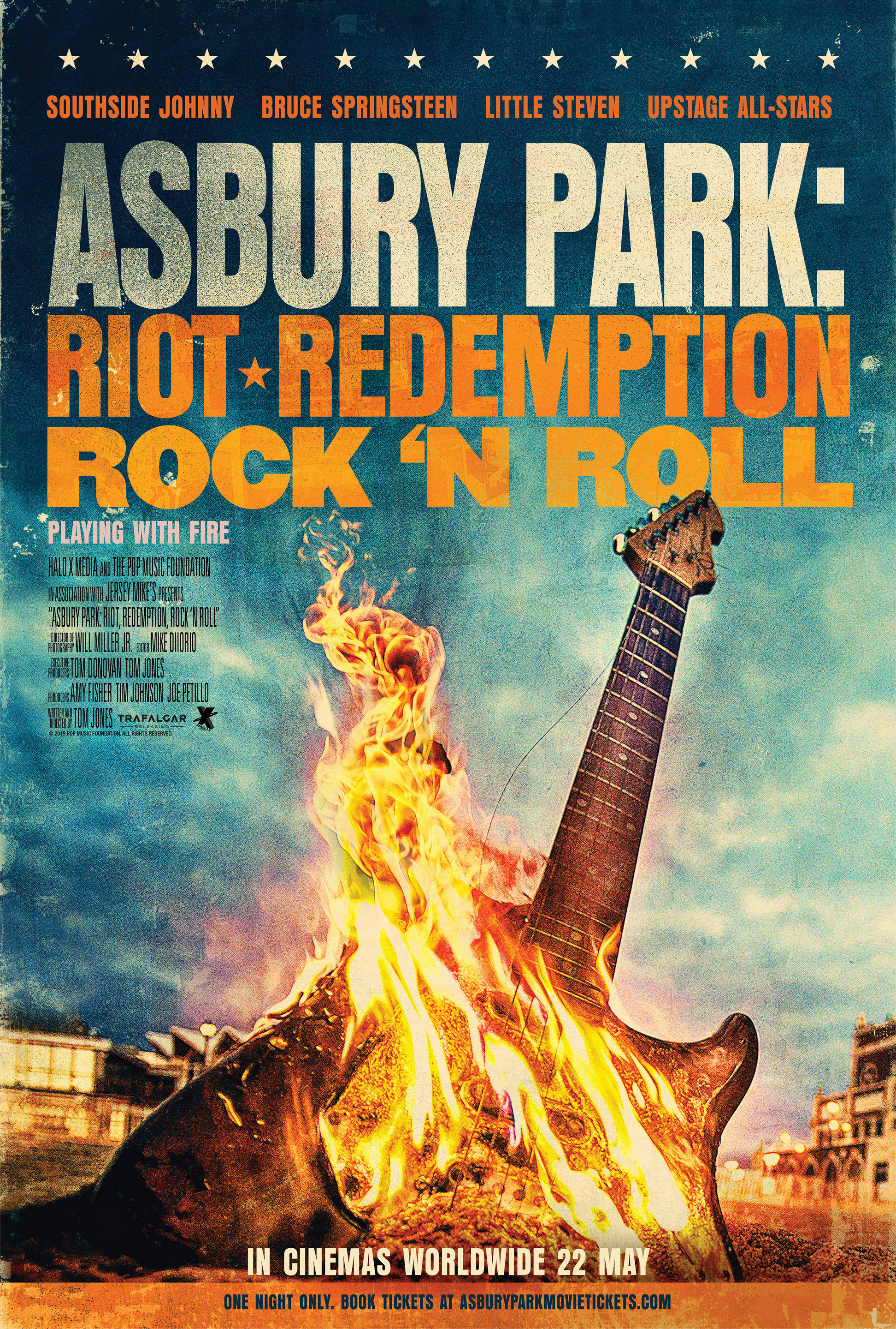 Asbury Park: Riot, Redemption, Rock 'N Roll Poster