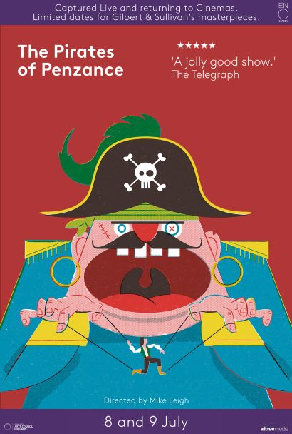 Gilbert & Sullivan: The Pirates of Penzance Poster