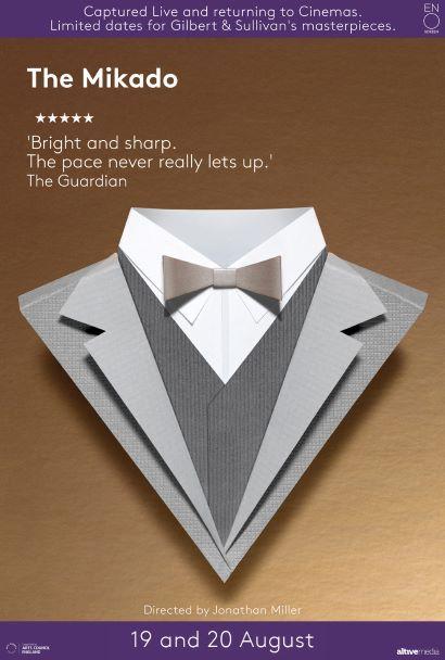 Gilbert & Sullivan: The Mikado Poster