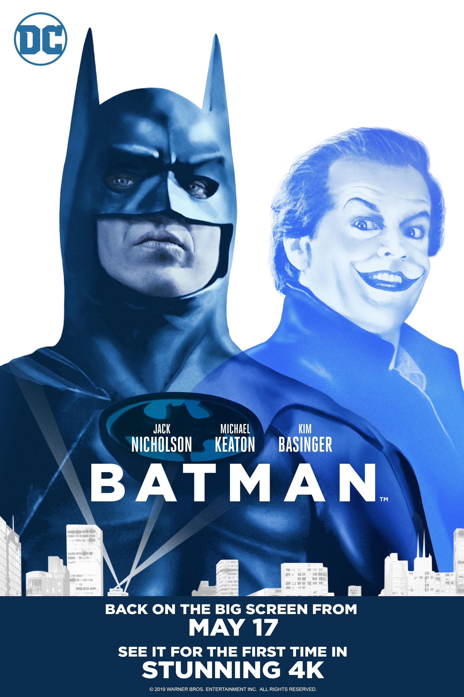 Batman - 30th Anniversary (4K) (Flashback) Poster