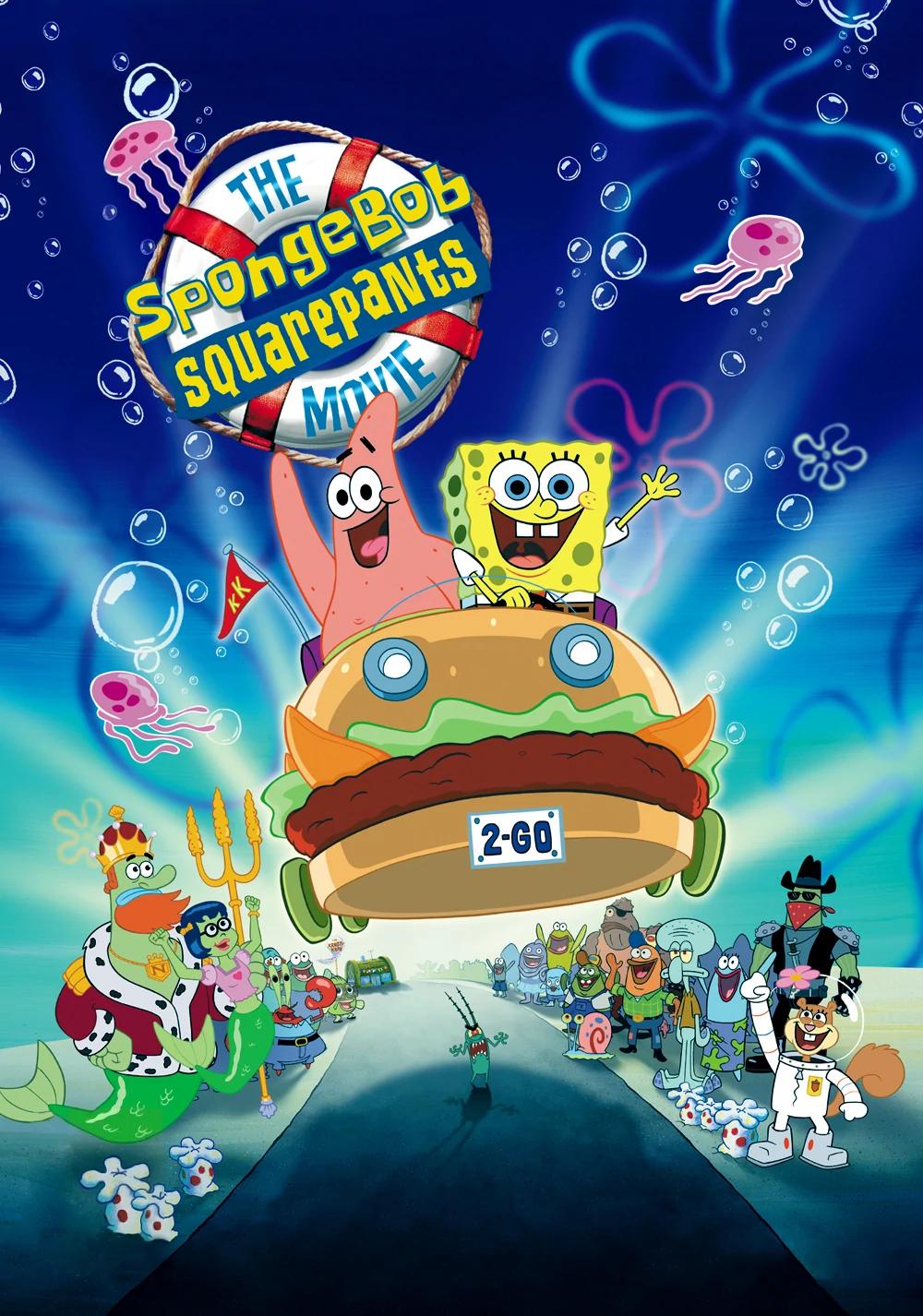 The SpongeBob SquarePants Movie (Flashback) Poster