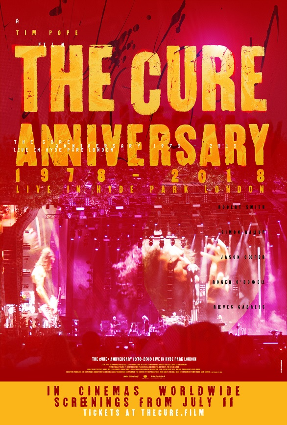 The Cure – Anniversary 1978-2018 Poster