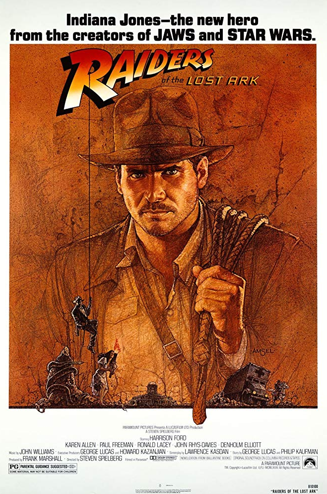 Raiders of the Lost Ark (Flashback) Poster