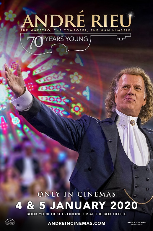 André Rieu: 70 Years Young Poster