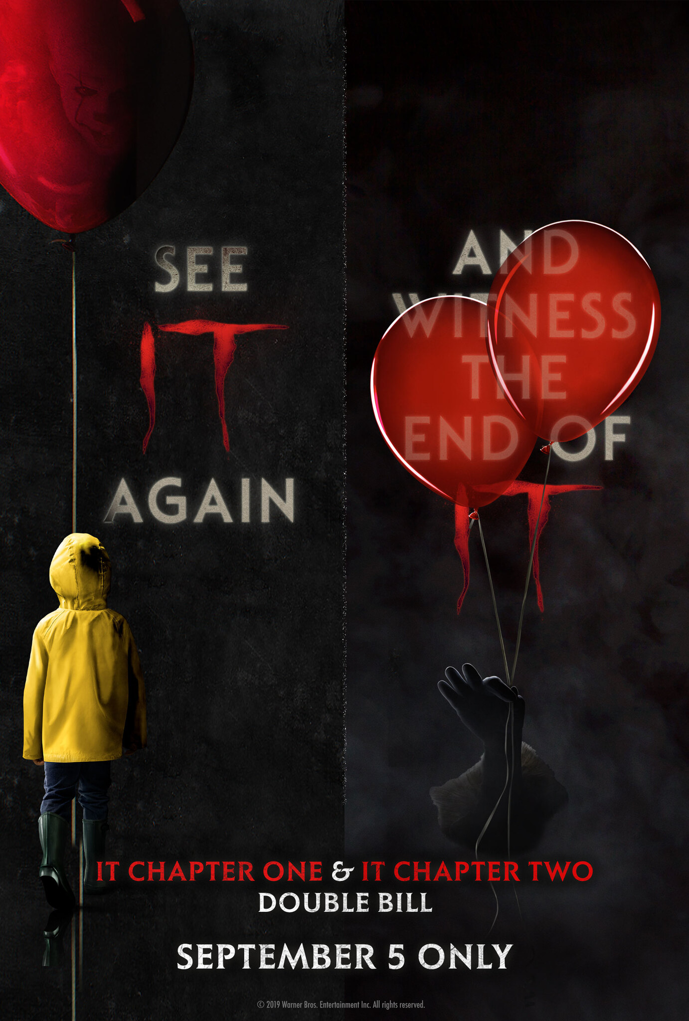 IT: Double Bill Poster