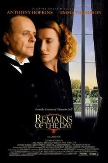 The Remains of the Day (Flashback) Poster