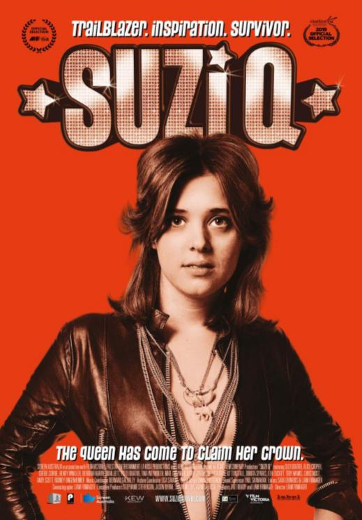 Suzi Q + Live Q&A Poster