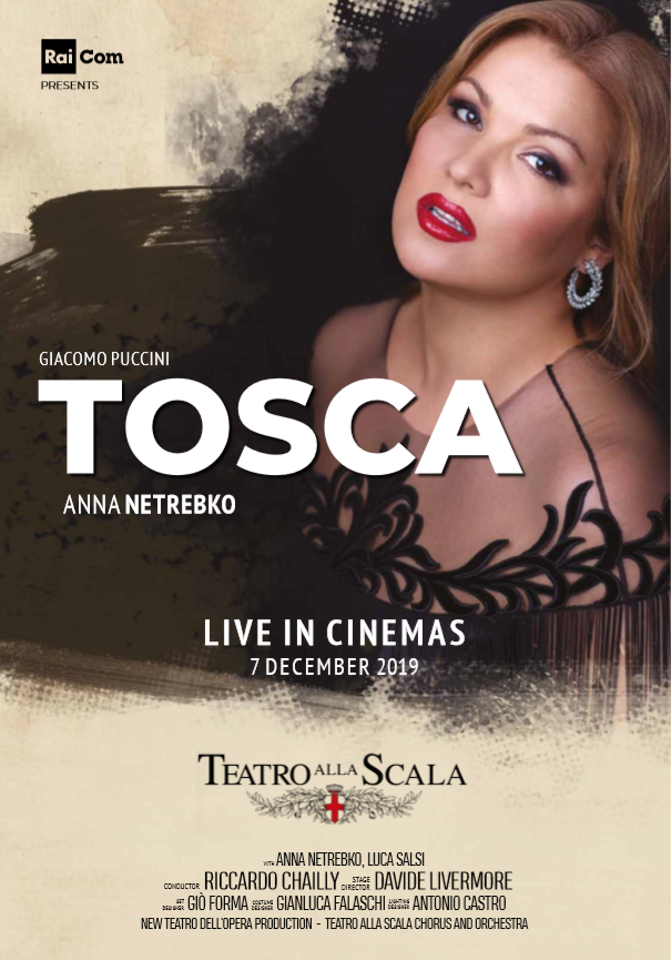 Tosca Live from La Scala Poster