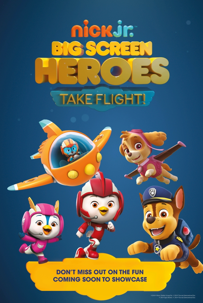 Big Screen Heroes: PAW Patrol And Top Wing