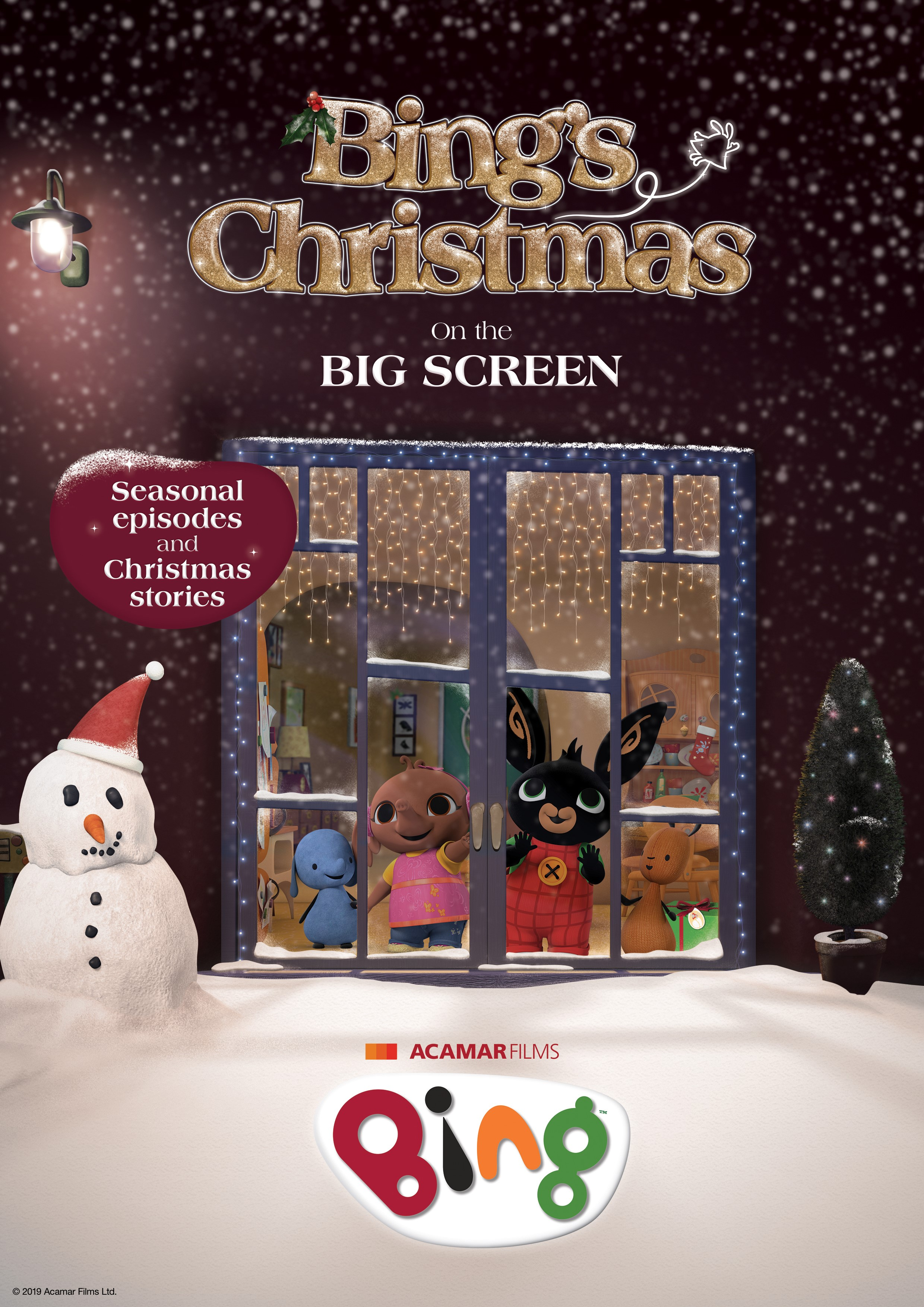 Bing's Christmas (totally tots) Poster