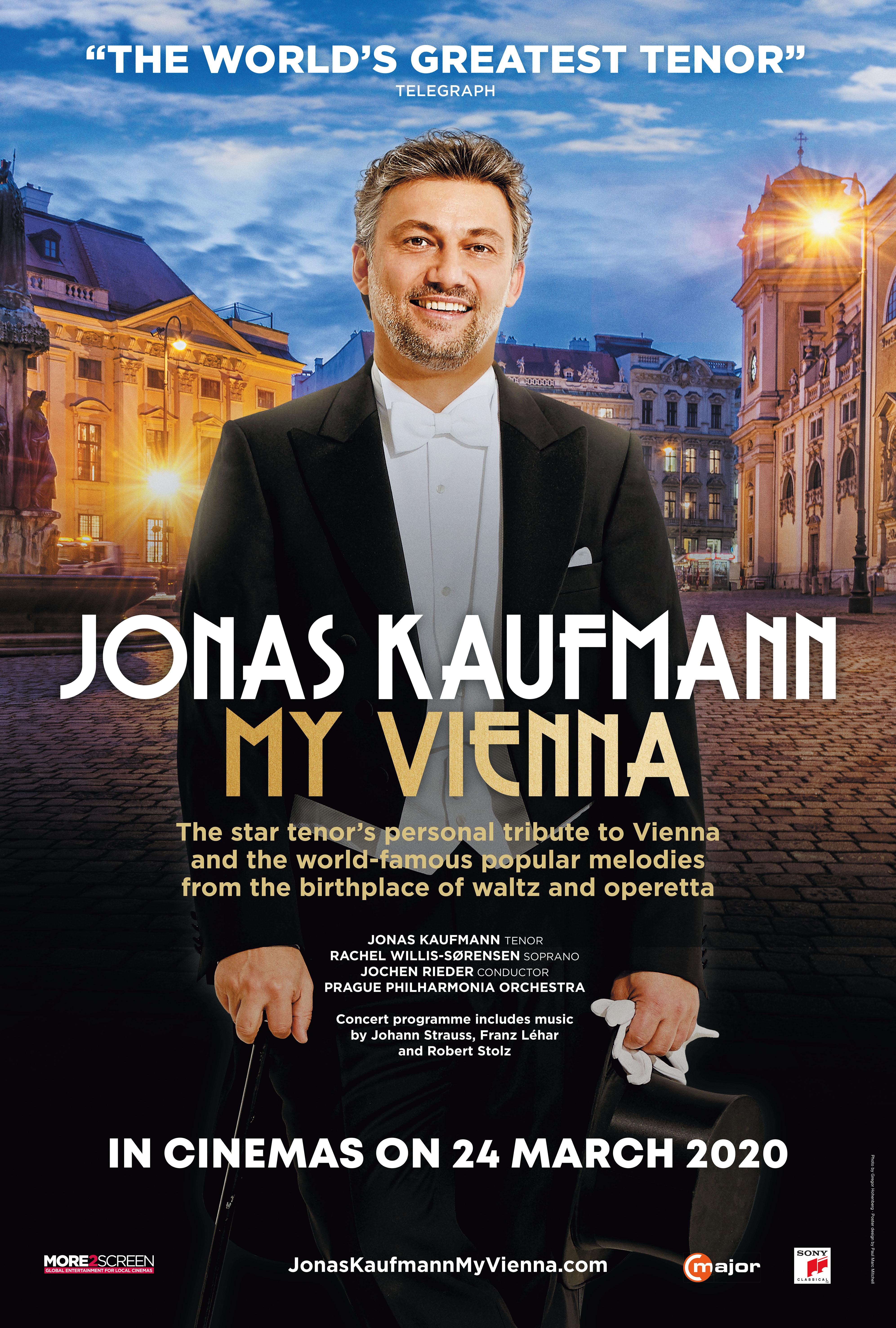 Jonas Kaufmann: My Vienna Poster