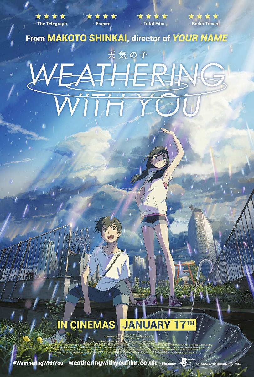 Weathering With You (Subtitled) Poster