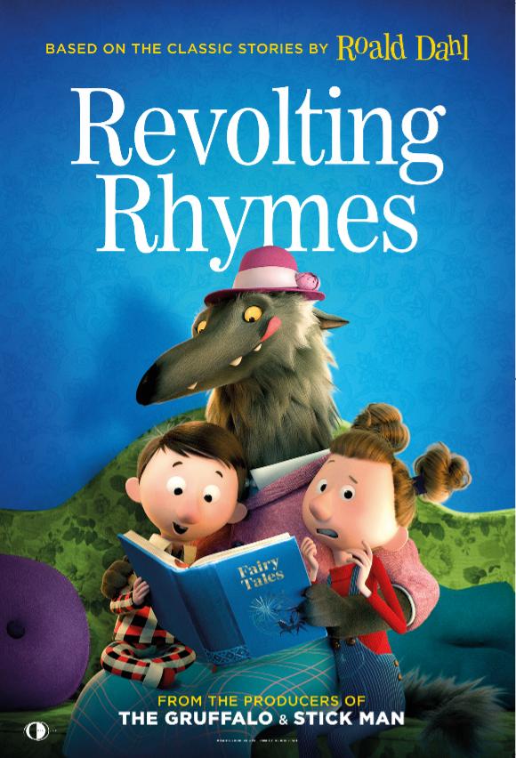 Roald Dahl's Revolting Rhymes Poster