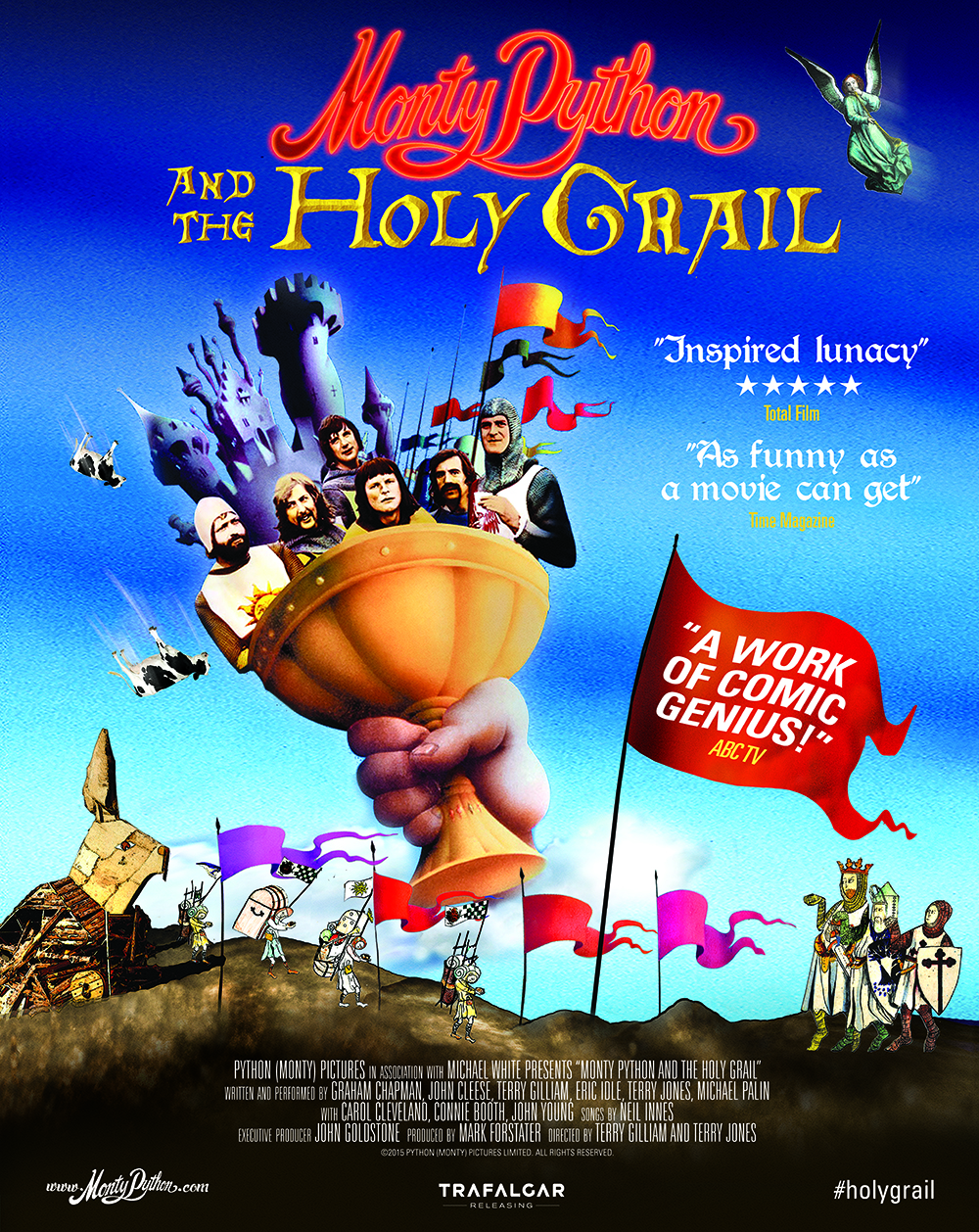 Monty Python And The Holy Grail (Flashback) Poster