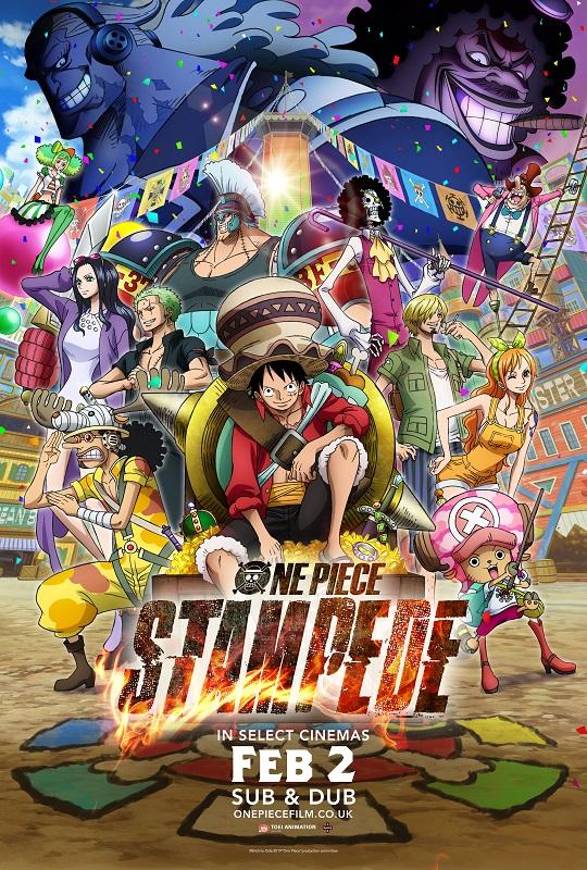 One Piece: Stampede (Subtitled) Poster