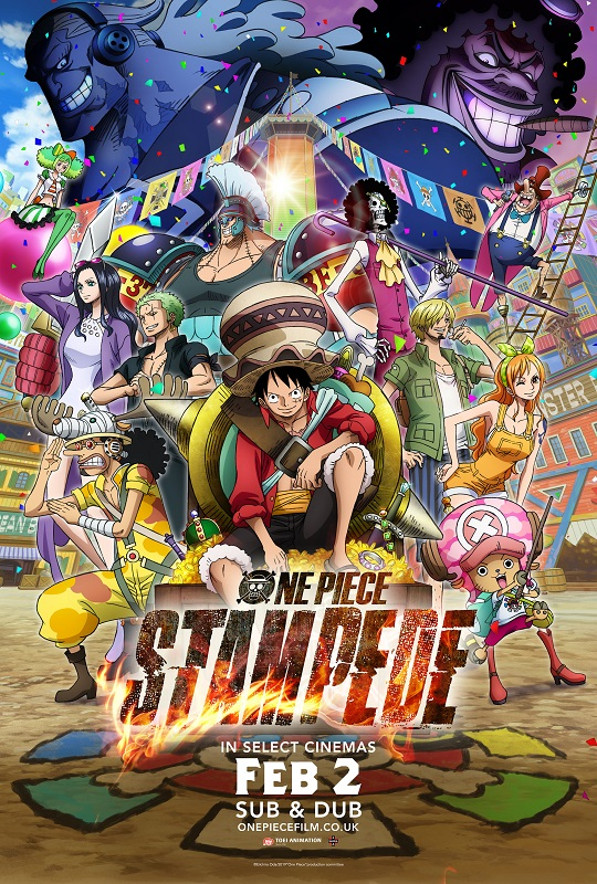 One Piece: Stampede (Dubbed) Poster