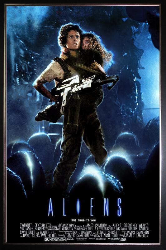 Aliens (Flashback) Poster
