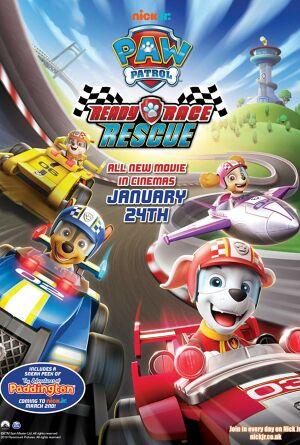 Paw Patrol: Ready, Race, Rescue Poster