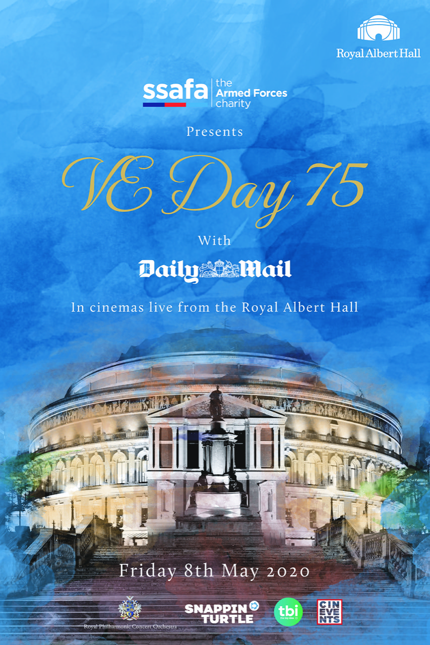 VE Day 75 Live from the Royal Albert Hall Poster