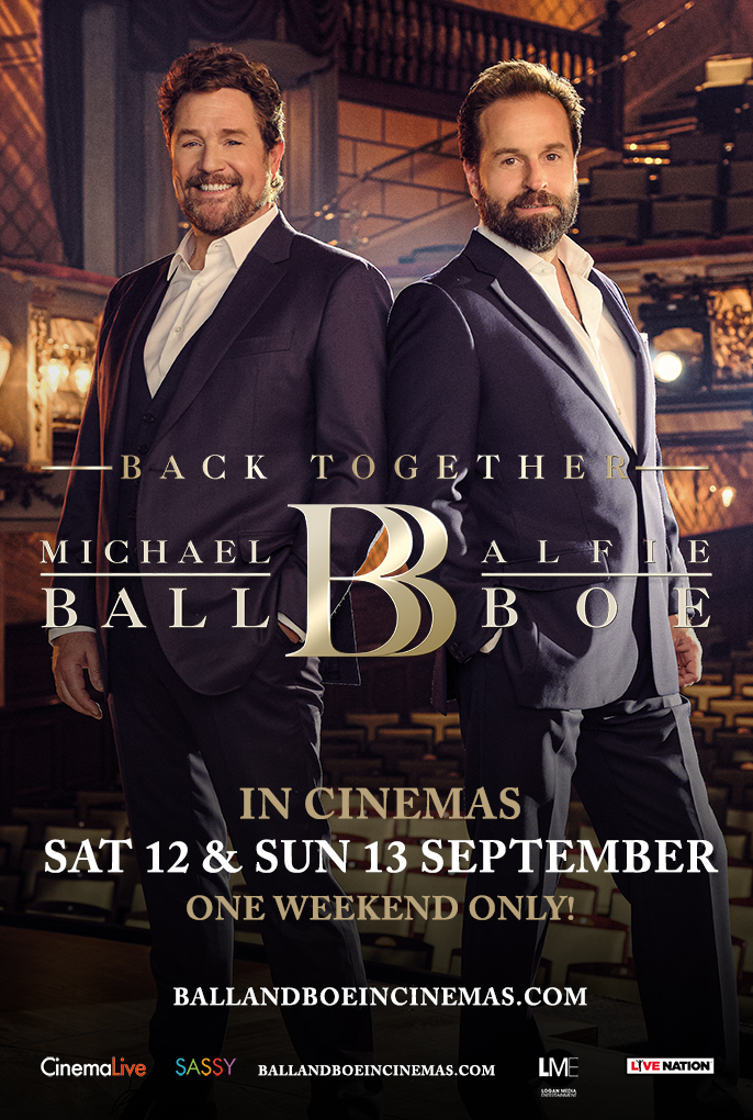 Michael Ball & Alfie Boe: Back Together Poster