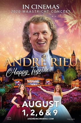 André Rieu 2020 Maastricht Concert: Happy Together Poster